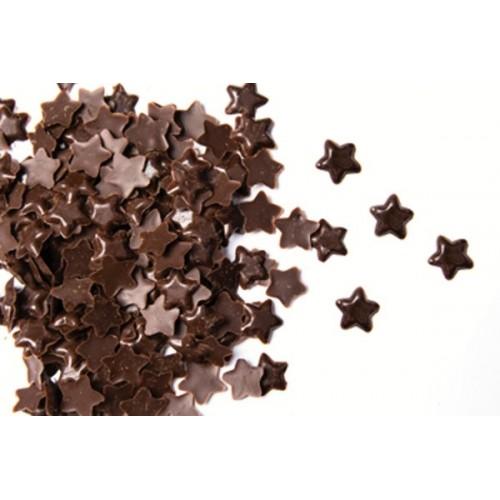 Čokoládové hviezdičky tmavé - 50g