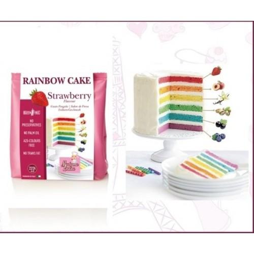 Madame Loulou - Rainbow Cake - Erdbeere  - 100g