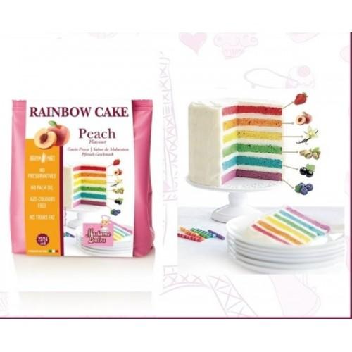 Madame Loulou - Rainbow Cake - broskyňa - 100g