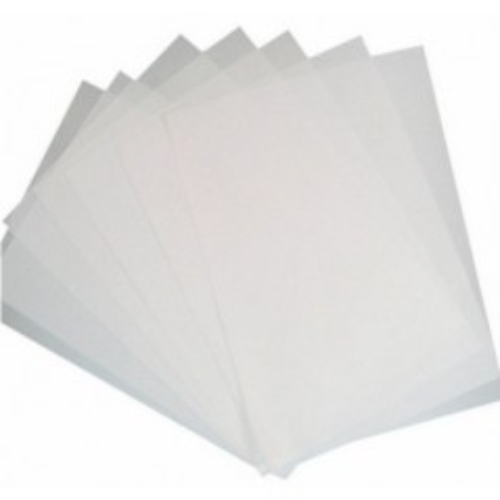 A4 Jedlý papír čistý - bílý - 0,5mm - 2ks