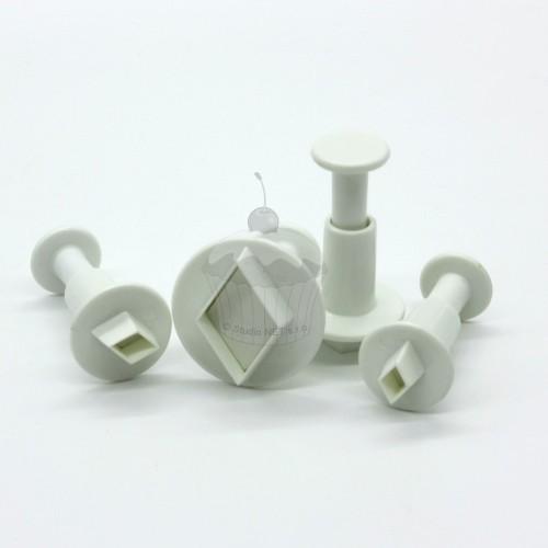 Miniature Diamont Plunger Cutter set 4pcs