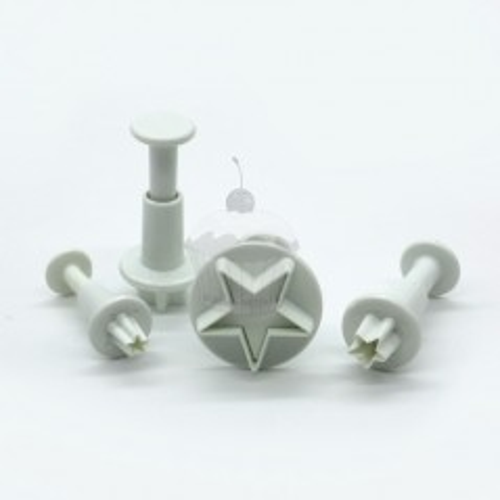 Vypichovač - mini hviezdičky - 4ks