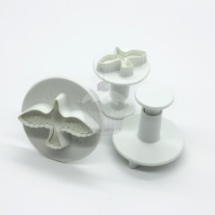 Plunger Cutter - dove - 3pc