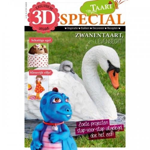 MjamTaart! Taartdecoratie Magazine 3D Special 2017