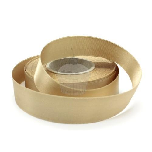 Satinband - cappuccino  20m / 24 mm