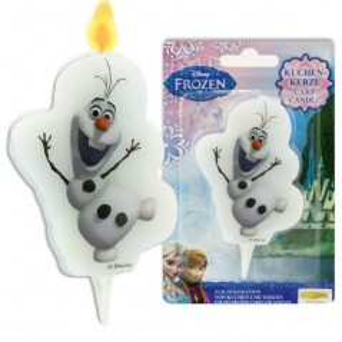Dortová svíčka - Frozen - Olaf - 1ks