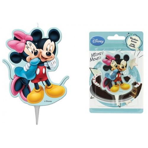 Tortová sviečka - Mickey Mouse - 1ks