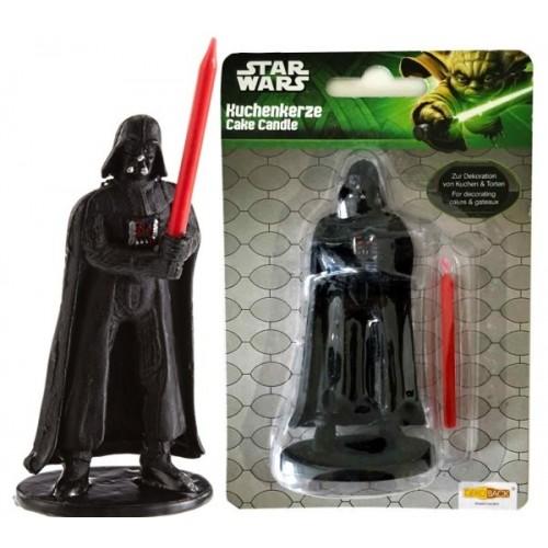 Dortová svíčka - Star Wars Darth Vader / figurka - 1ks