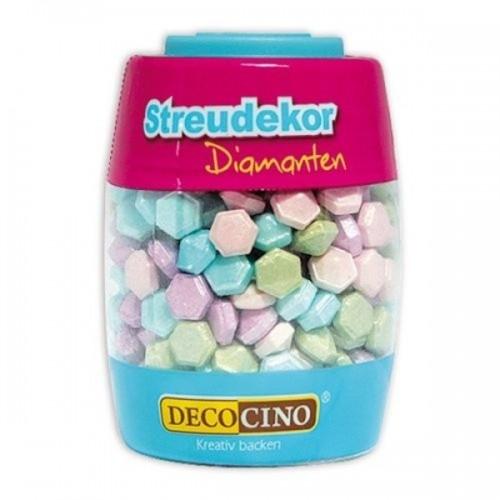 DecoCino Sprinkles - Diamanten - 63g
