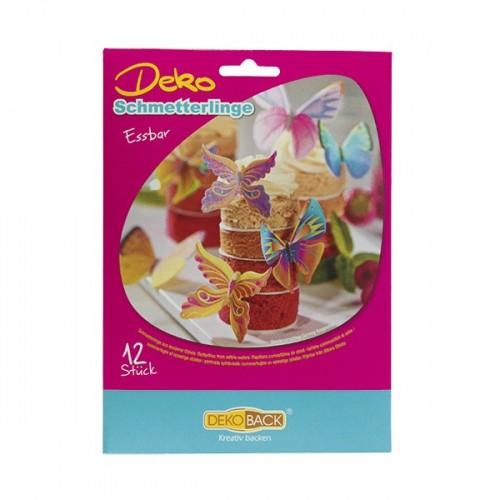 DecoCino jedlý papír - Motýlci  12ks