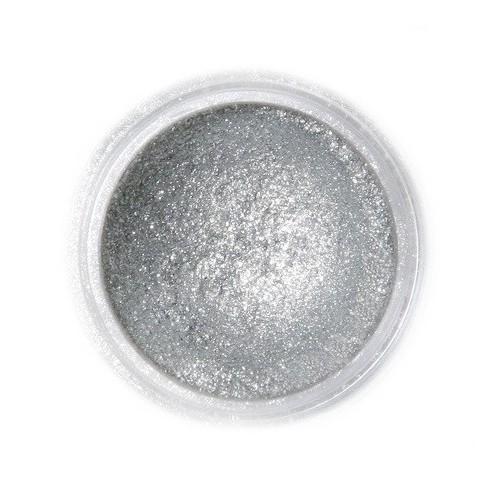 Jedlá prachová perleťová barva Fractal - Sparkling Dark Silver (3,5 g)
