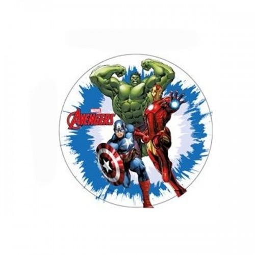 Fondánový list - Marvel - Avengers 3 -  21cm