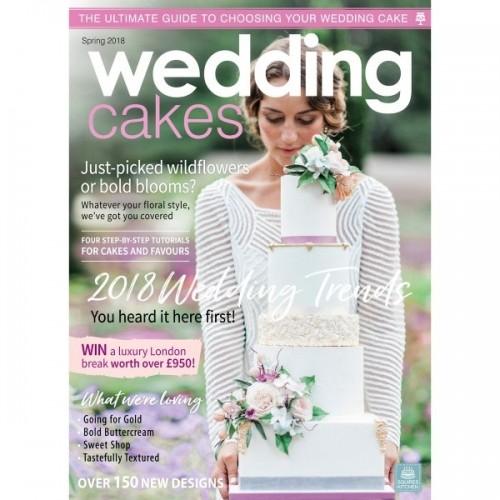 Časopis - Wedding Cakes - Svadobné torty -  jar 2018