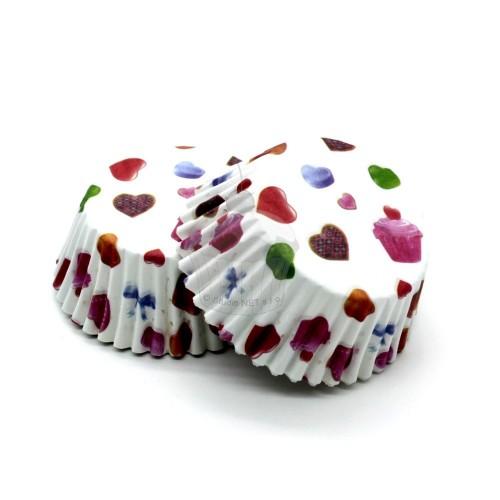 Cukrárske košíčky - sladký Valentín 50ks