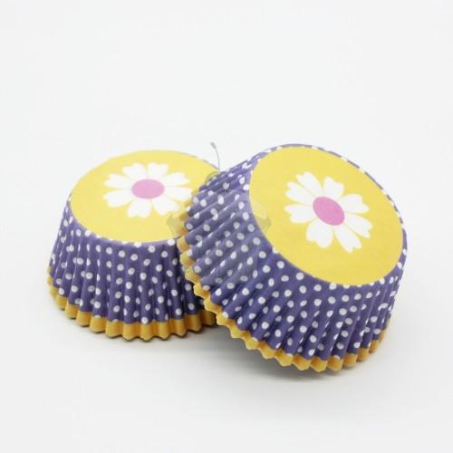 Cukrářské košíčky - žluté jaro 50ks