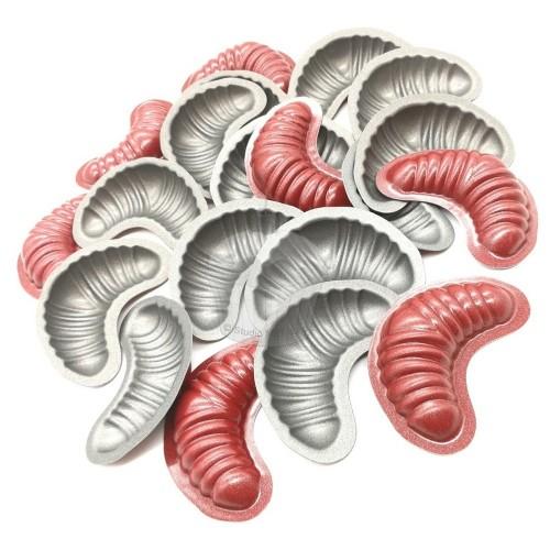 Teflónová formička - rožok malý 20ks