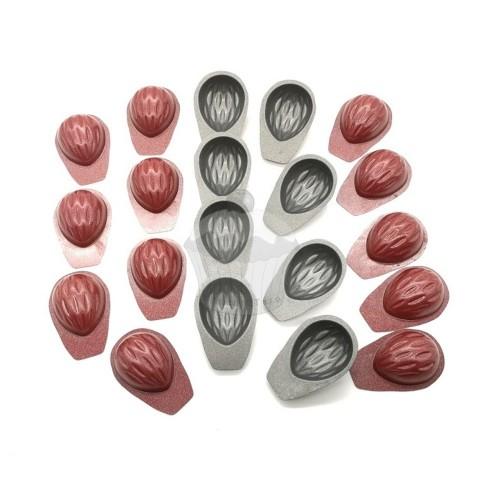 Teflonová vyklápěcí formička - ořechy malé 20ks