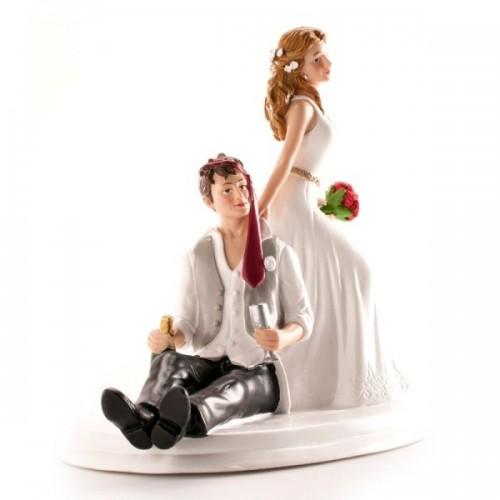Svatební figurky - po flámu