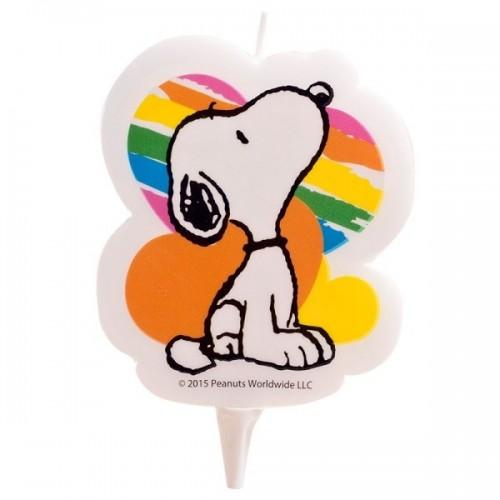 Dekora dortová svíčka - Snoopy - 1ks