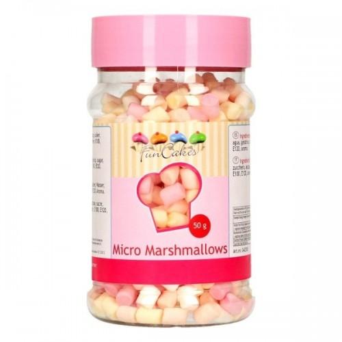 FunCakes cukrová dekorace - Marshmallows micro  - 50g