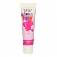 FunColours edible funcolours gel - PINK  - 30g