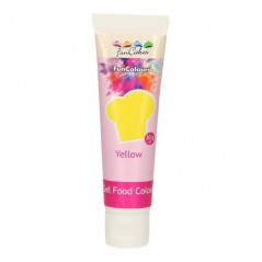FunColours edible funcolours gel - gelb - YELLOW - 30g