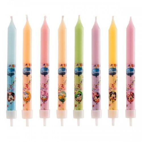 Narozeninové svíčky - Mickey a přátelé - 8ks