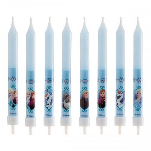 Narozeninové svíčky - Frozen - 8ks