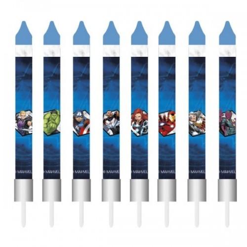 Narozeninové svíčky - Avengers - 8ks