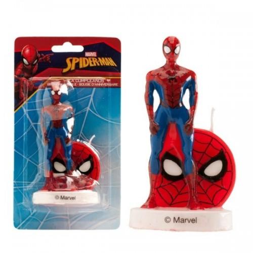 Dekora Dortová svíčka - Spiderman - 1ks