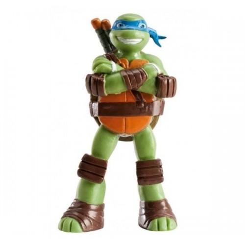 Dekorační figurka - Želvy Ninja - Leonardo - modrý