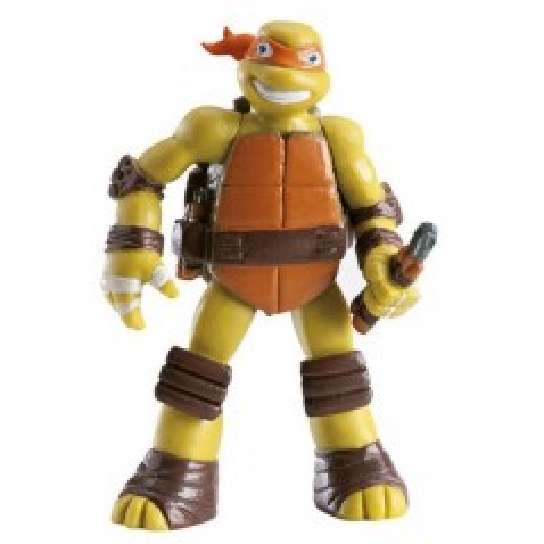 Dekoračné figúrka - Korytnačky Ninja - Michelangelo - oranžový