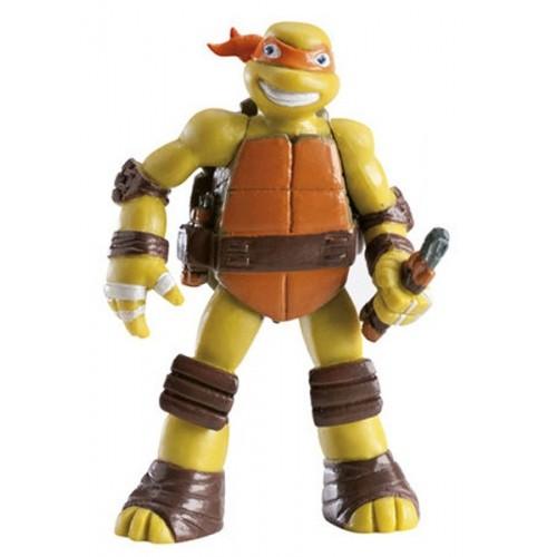 Dekorační figurka - Želvy Ninja - Michelangelo - oranžový