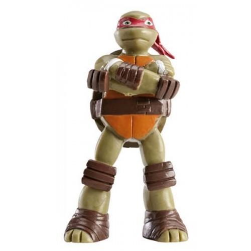 Dekorační figurka - Želvy Ninja - Raphael - červený