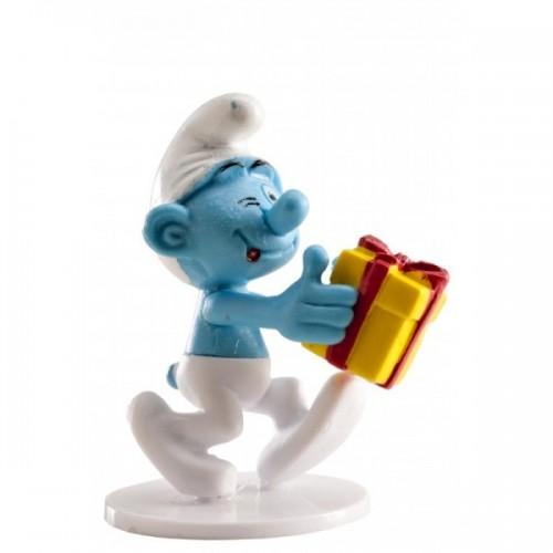 Dekorační figurka - Šmoulové - Šprýmař