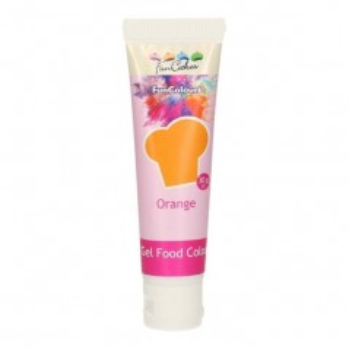 FunColours - gelová barva - oranžová  - ORANGE   - 30g