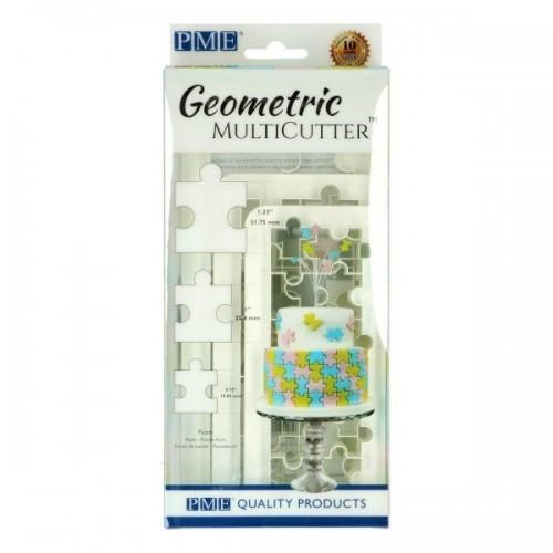 PME Multicutter set - Multi Ausstecher  - Puzzle 3stück
