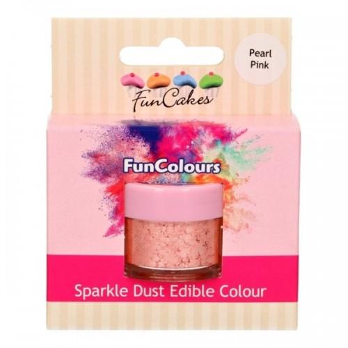 FunColours prachová perleťová farba ružová - Pearl Pink