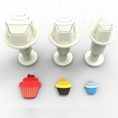 Dekofee  - vypichovače mini CupCakes - 3ks