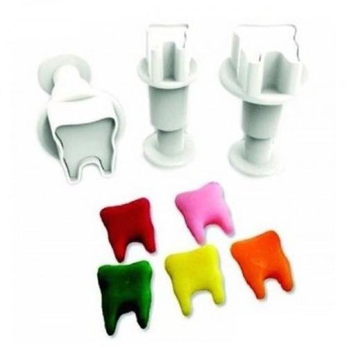 Dekofee Mini Plungers Zahn set/3