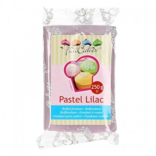 FunCakes potahový fondán Pastel Lilac - fialová 250g