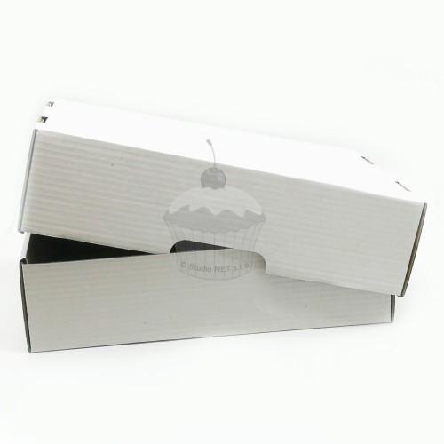 Krabica na tortu - extra pevná - 40 x 30 x 10cm