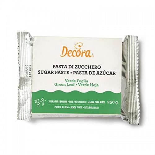 Decora - poťahovacie hmota - zelená - leaf green - 250g
