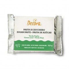 Decora - Zuckerpaste -  leaf  green 250g