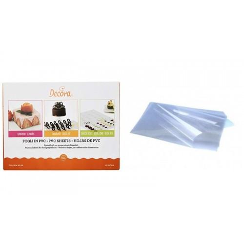 PVC Sheets - without print 40 x 30cm - 10pcs