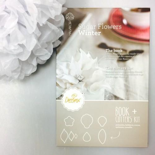 Decora - sada Sugar Flower Winter  +  8 vykrajovátek