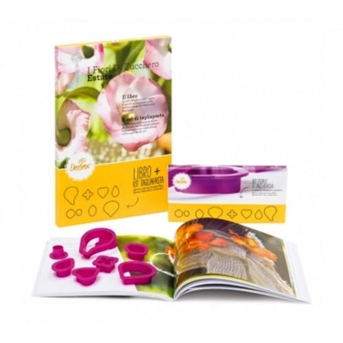 Decora - sada Sugar Flower Sommer +  8 vykrajovátek