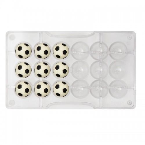 Decora - Forma na čokoládové pralinky - futbalová lopta