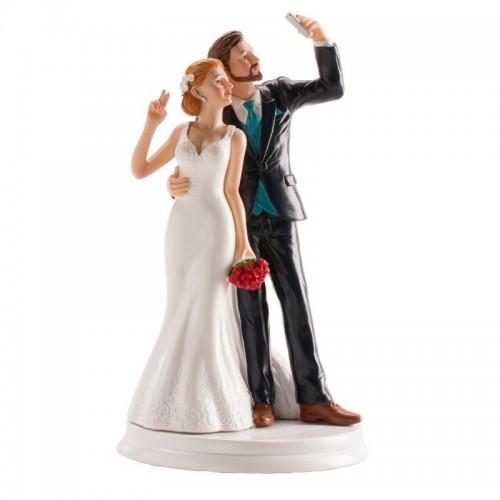 Svatební figurky - Selfie