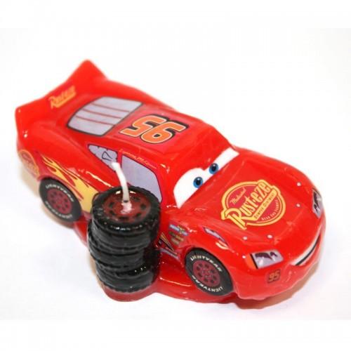 Dekora Tortová sviečka - Cars - Blesk McQueen 3D - 1ks